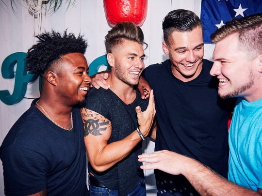 Kirk, Gus, Jeremiah and Codi from 'Floribama Shore'
