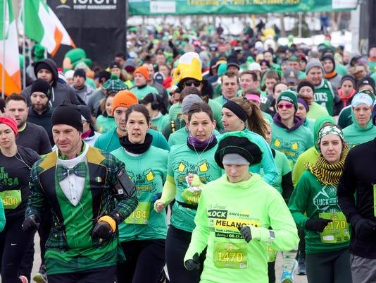 St. Patrick's Day Run Walk in Wauwatosa