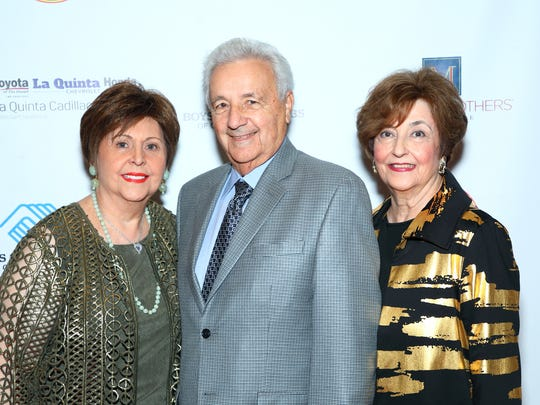 Shirley Chuchian with George and Tammy Kirkjan