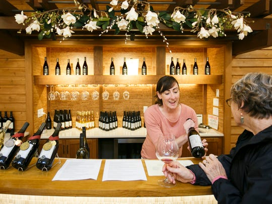 Michelle Wasner discusses Seufert Winery's pinot noir