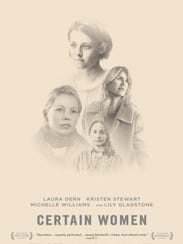 "The poster for ""Certain Women"" from IFC Films."
