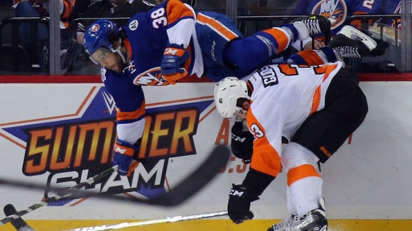 Radko Gudas and the Flyers are closing out their fourth back-to-back of the season.