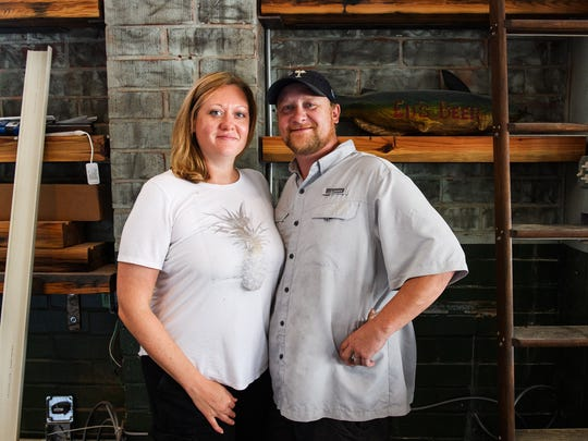 Michael and Cristy Marut of the Farehouse at Taylors Mill on, July 6, 2018.