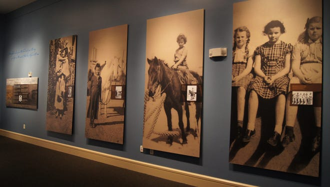 """Sandra Day O'Connor's childhood spent on a ranch in Southeastern Arizona is the basis of the exhibit """"The Cowgirl Who Became A Justice: Sandra Day O'Connor."""" The exhibit will be at the McClelland Irish Library in Phoenix."""
