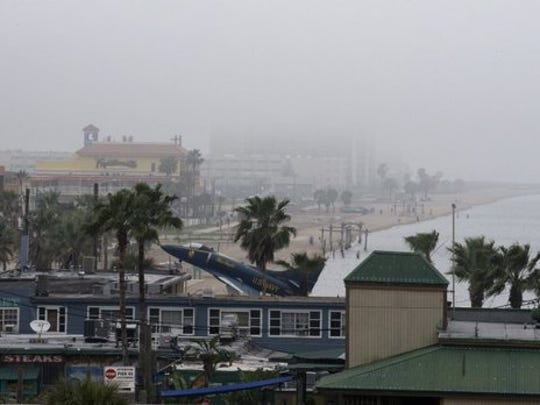 North Beach often shrouded in fog during winter. While fog can pester drivers, officials for the Port of Corpus Christi say it can bring traffic in the Corpus Christi Ship Channel to a standstill.