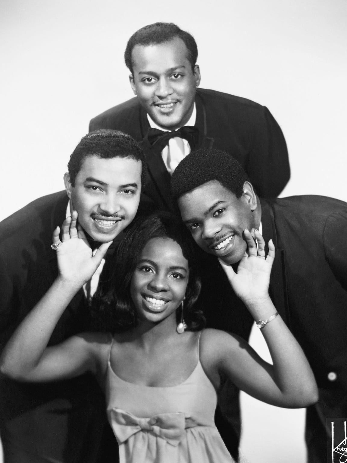 Gladys Knight & the Pips in 1967