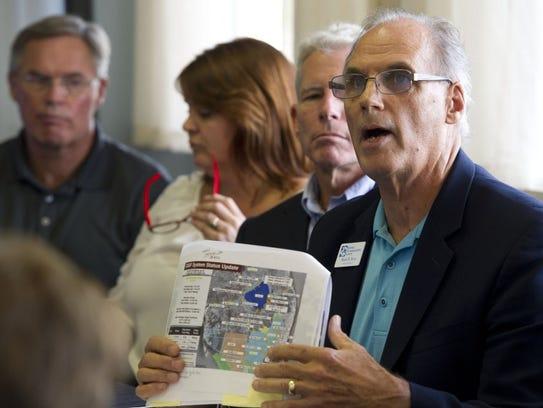 Mark Perry, executive director of Florida Oceanographic