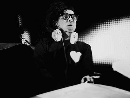 Skrillex performs onstage during day 2 of the 2014 Coachella Valley Music & Arts Festival at the Empire Polo Club on April 12, 2014 in Indio, California.