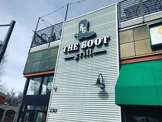 The Boot Grill is located at 130 W. Laurel St.