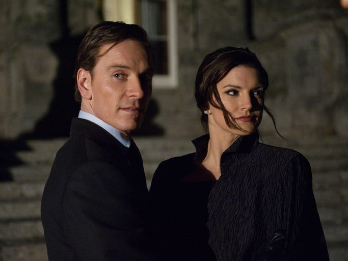 """Michael Fassbender and Gina Carano in a scene from the film """"Haywire."""""""