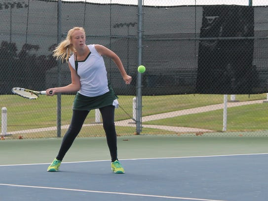 Springfield Catholic junior Emily Kroutil placed fifth