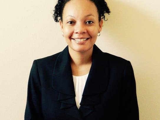 Calandra Stringer, associate vice president for academic