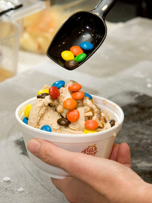 Cold Stone Creamery treat