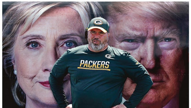The Packers-Giants game and the second presidential debate overlap