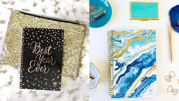 Start 2018 strong with a new planner to finally get
