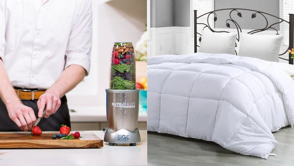 Today's deals are great for the home.