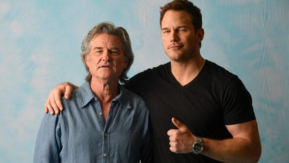Kurt Russell and Chris Pratt give good dad advice.