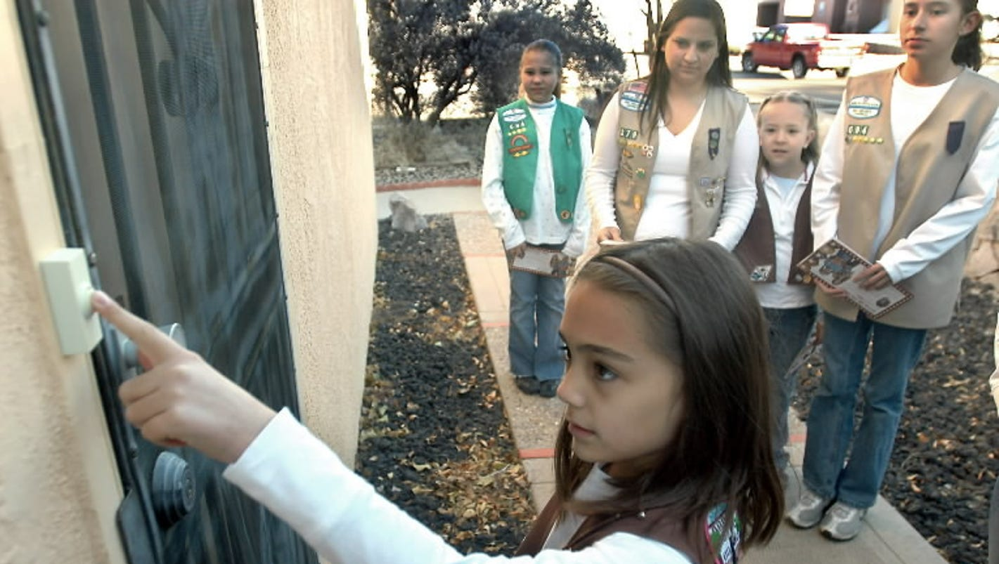cybersecurity badge big step for girl scouts giant leap