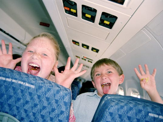 Kids on an Airplane