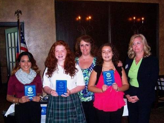 Rotary Club student awards