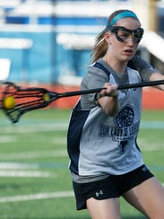 Lourdes Maeve Connolly takes a shot during a girls