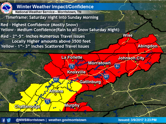 Winter weather outlook for this weekend.