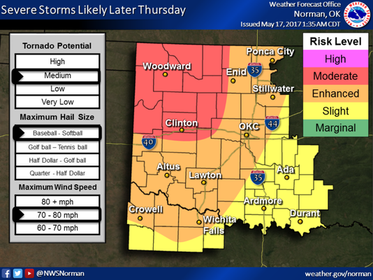 Severe Weather for May 18