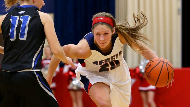 Roncalli's Lindsey Corsaro leads the Rebels into a unique four-team sectional this year.