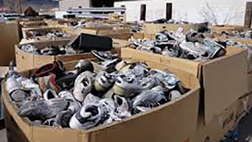 Adas Kodesch Shel Emeth Synagogue is conducting a shoe drive seeking new and gently used men's, women's and children's shoes.