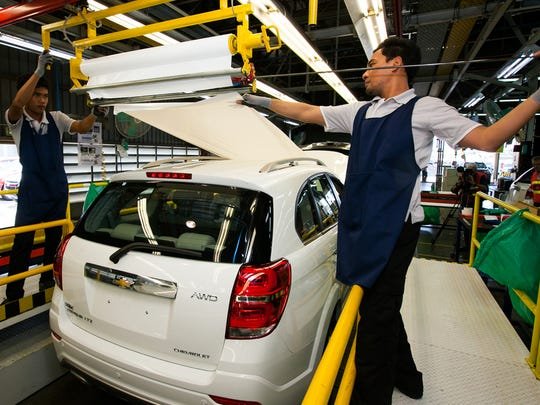 General Motors' Southeast Asia Operations has announced a strategic transformation plan to restructure its operations in Thailand, including a realignment of its Chevrolet product portfolio to focus primarily on trucks and SUVs, which it manufactures at its plant in Rayong (shown here).