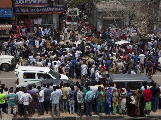 India Bodies Found