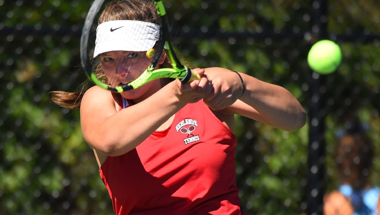 Girls tennis: Final Top 20 rankings