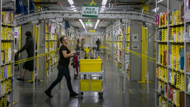 Employers such as Amazon, which operates four fulfillment centers in metro Phoenix, including one in Goodyear, are helping to brighten the jobs picture in the West Valley.