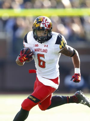 Ty Johnson has rushed for 845 yards and four TDs, averaging 8.9 yards per carry, the best per-carry average at Maryland in the last 63 years.