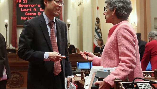 Sen. Hannah-Beth Jackson, D-Santa Barbara, co-authored a bill that would require publicly-held corporations to include at least one woman on their boards of directors by the end of 2019.
