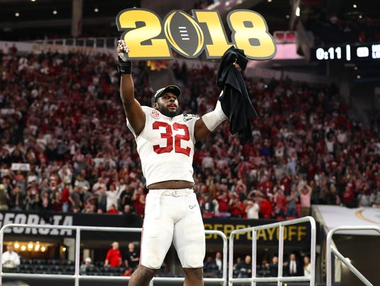 NCAA Football: CFP National Championship Game-Alabama vs Georgia