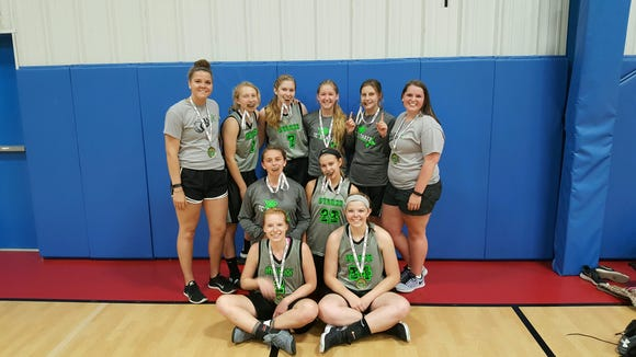 The TC Starzz won the junior-varsity girls division of last weekend's Jet Jam tournament at the Xcel Sportsplex.
