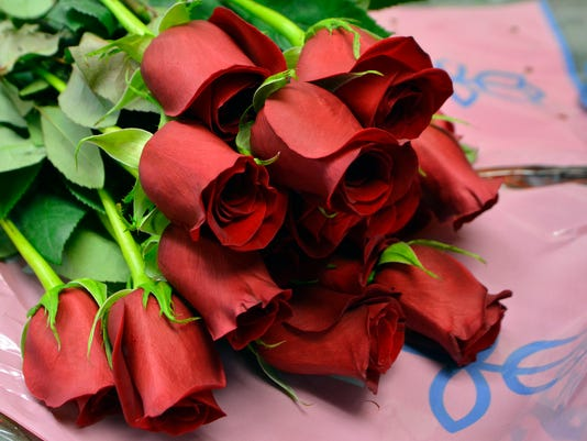 Royer's Flowers deep in roses