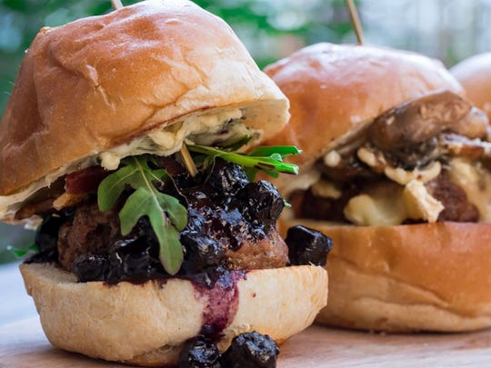 Mix and match sliders (two for $10, 3 for $14 or five