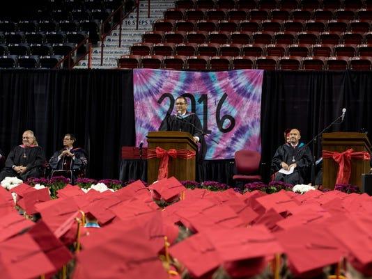Centennial High School commencement