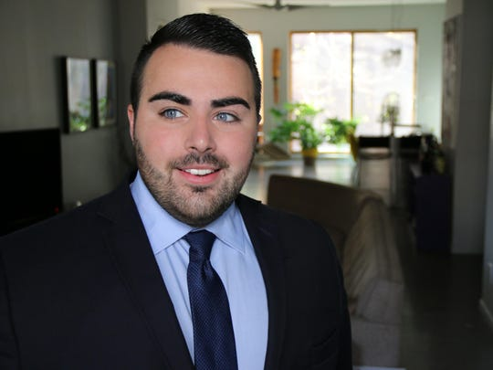 Christian Fuscarino leads Garden State Equality, New Jersey's largest LGBT rights organization.