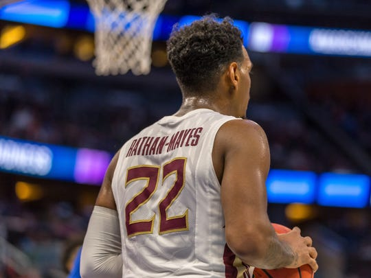 Florida State guard Xavier Rathan-Mayes hopes that his distinctive defensive abilities and veteran leadership with attract professional scouts prior to the 2017 NBA Draft.