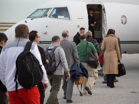 Burke Lakefront Airport in Cleveland offers a couple