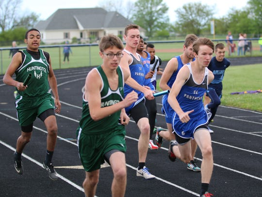 The Ross County Track and Field Meet was held Tuesday