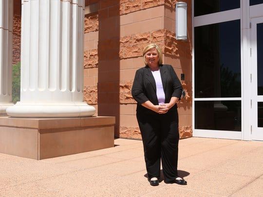 Debbie Heisler--who's son was murdered, allegedly in