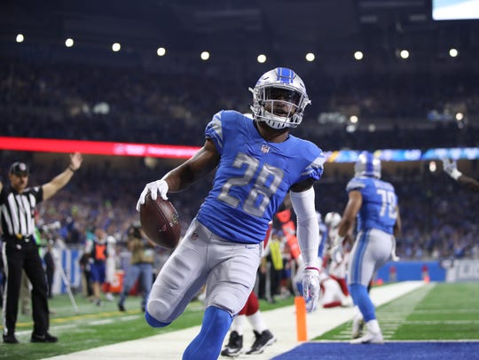 Quandre Diggs enters his fourth season in Detroit.