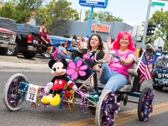 """Float #32 at the 1st Annual C.A.R.E. """"Big Event"""" Parade"""