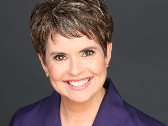 Channel 4 anchor Demetria Kalodimos