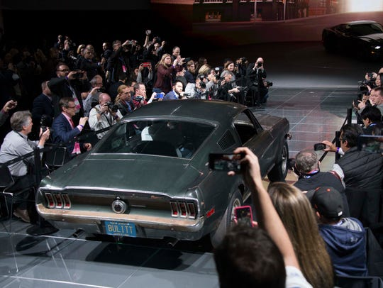 The original 1968 Mustang in the Steve McQueen movie