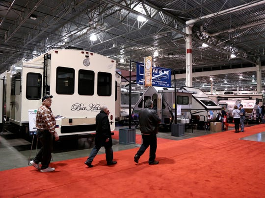 The  Detroit Camper & RV Show continues through Sunday